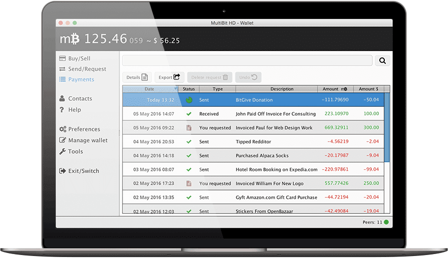 MultiBit Wallet – Скачать Bitcoin кошелек для Windows