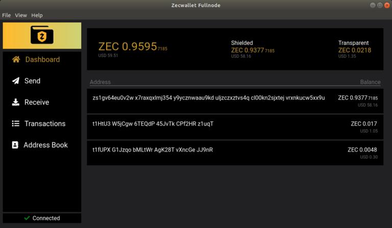 ZecWallet FullNode: Скачать Zcash кошелек для Windows